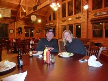 Dinner at host lodge