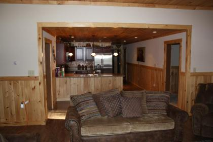 SledHead Chalet Kitchen & Hall